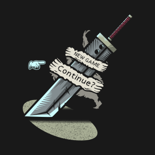 Continue? t-shirts