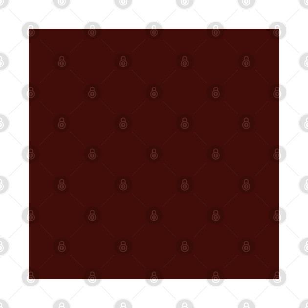 Mahogany Red, Solid Red