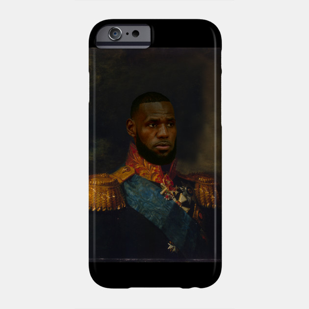 73bbec0c8cd9 Lebron James Classical Painting - Lebron James - Phone Case