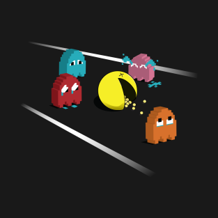 Pac-man, Death of t-shirts