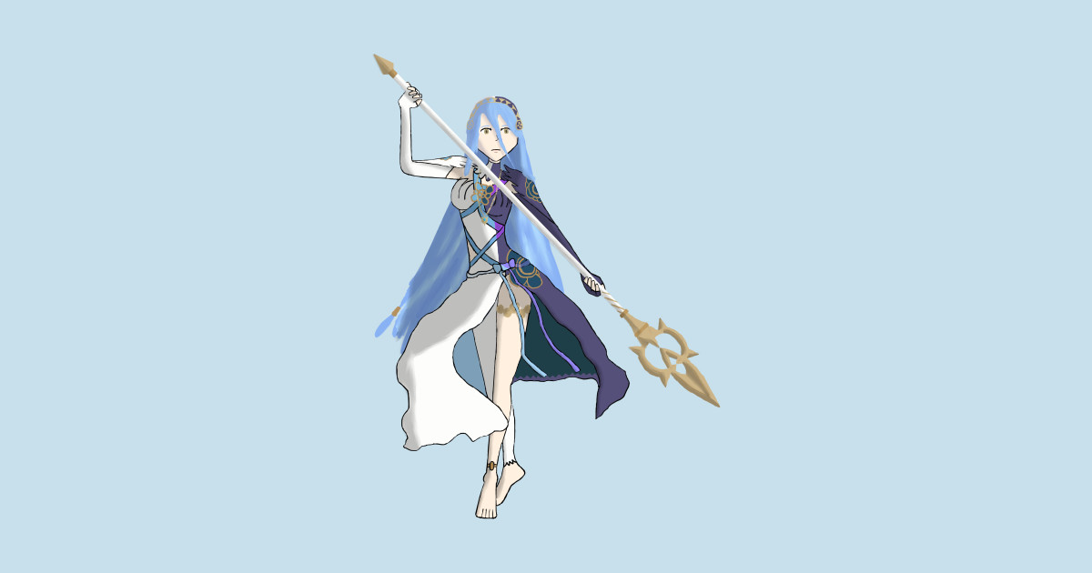 Azura Lady Of The Lake My Queen Drawing Azura Fire Emblem Fates