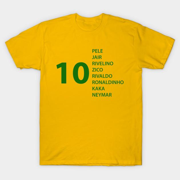 Brazilian Soccer Team - Brazil - T-Shirt  7a4cf095b1b6