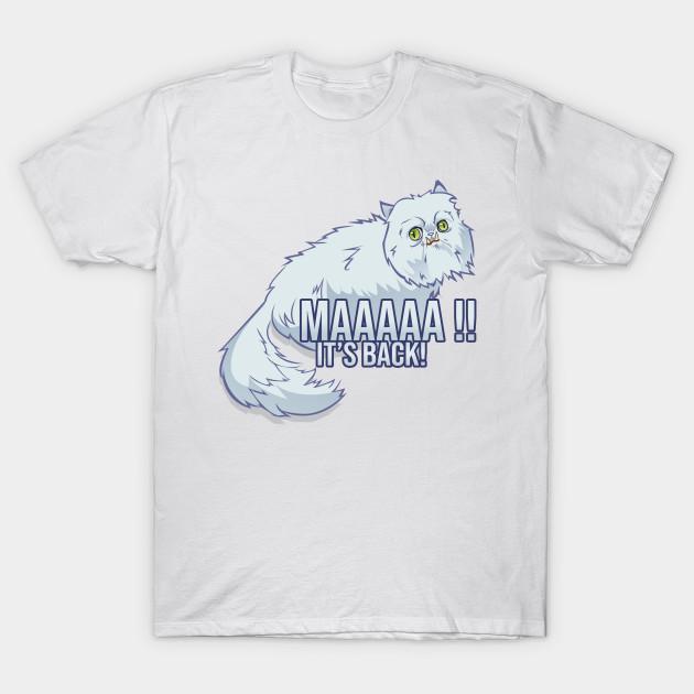 2c5c17332 Weird Cat - Weird Cat - T-Shirt   TeePublic