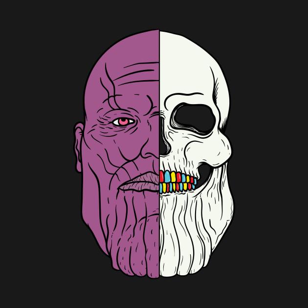 Thanos Half Skull