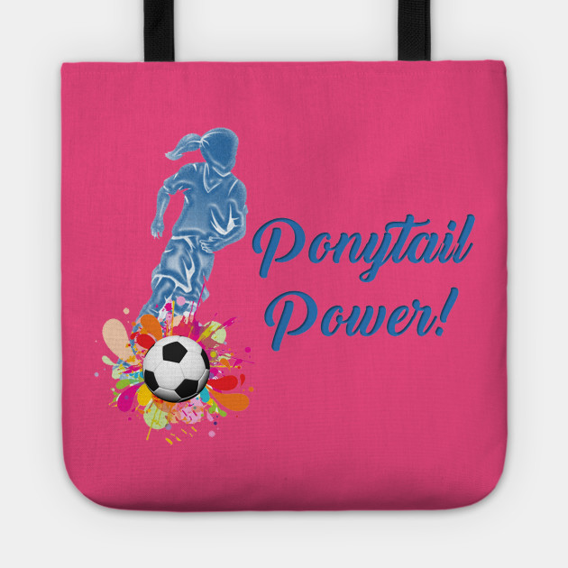 Ponytail Power (blue)