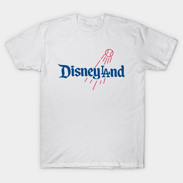 DisneyLAnd - Dodgers - T-Shirt  e64305f4a76