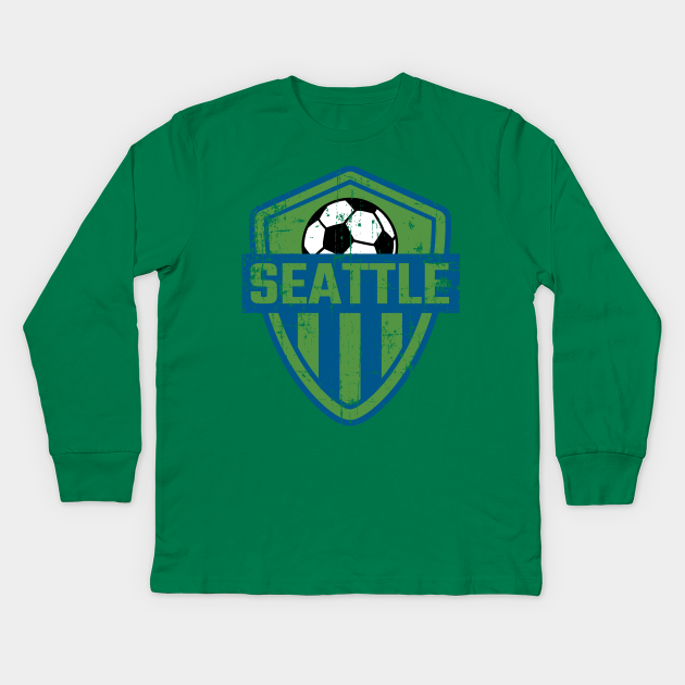 Seattle Soccer Jersey Style Football FC