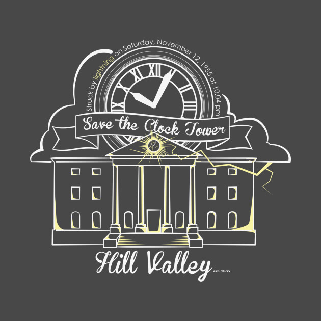 Save the Clock Tower (for dark shirts)