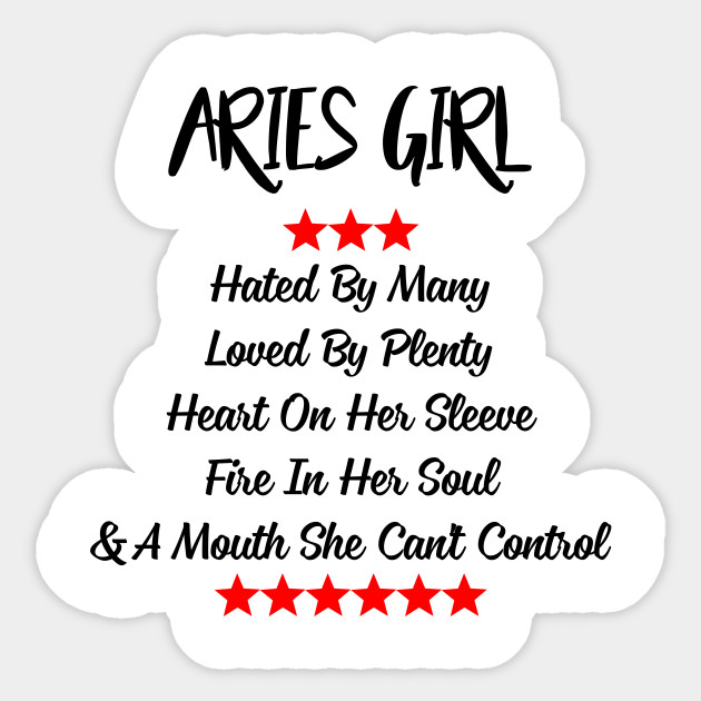 Aries Girl Heart On Her Sleeve Fire In Her Soul T-Shirt -6632