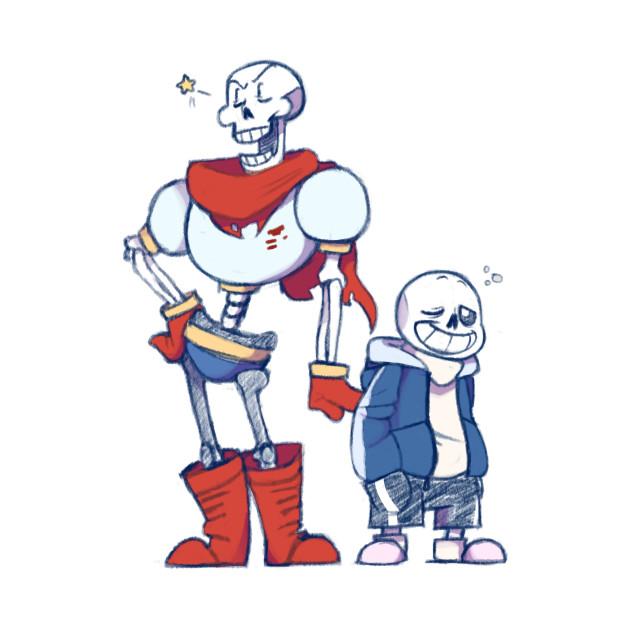 Undertale - San & Papyrus