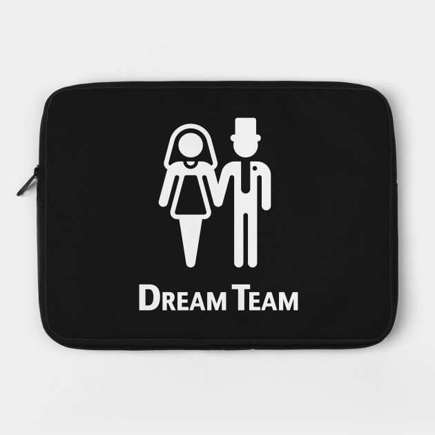 Dream Team (Bridal Pair / Wedding / Marriage / White)