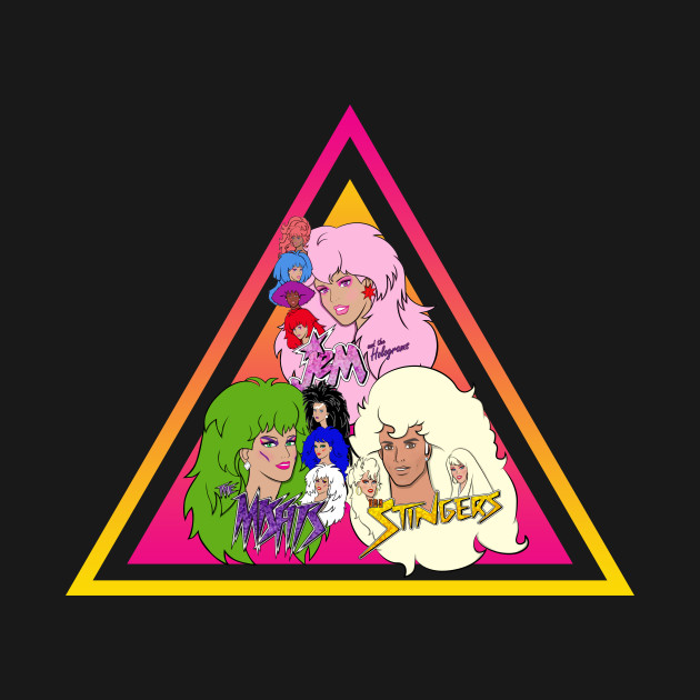 Jem and the Holograms + The Misfits + The Stingers