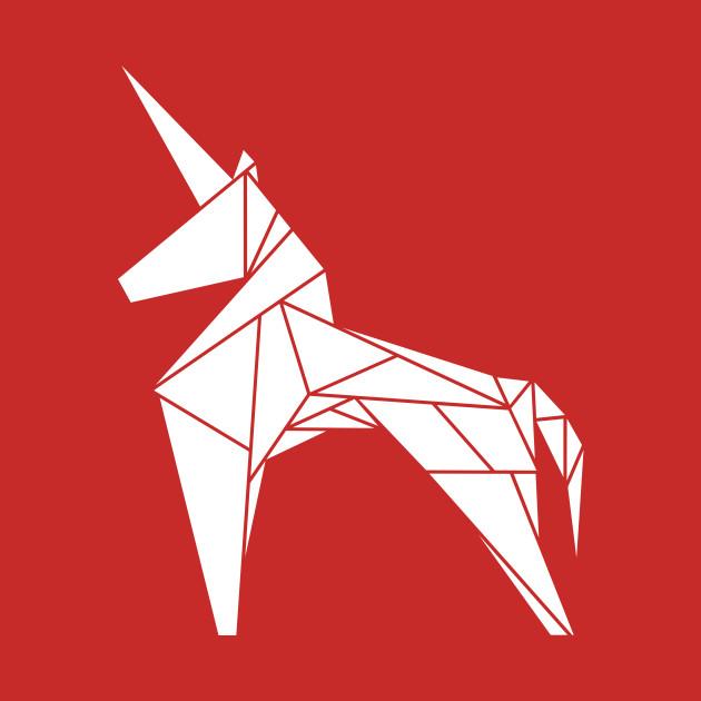 Unicorn Horse Origami Unicorn Kids T Shirt Teepublic