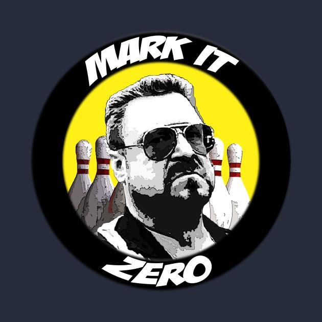 Mark it zero.