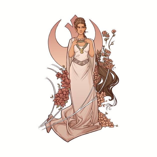 The Alderaan Rose