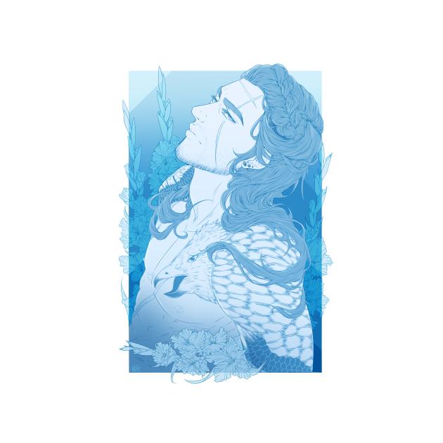 Gladio Amicitia in Blue