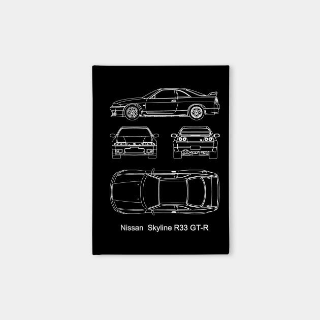 Nissan GT-R R33 - legendary JDM car