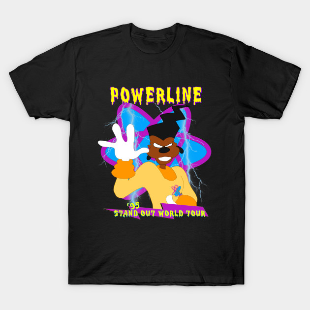 Stand Out Designs Shirts : Powerline stand out world tour goofy t shirt teepublic
