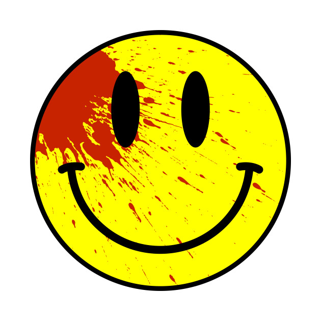 Acid house smiley face bloodied smile t shirt for Acid house production