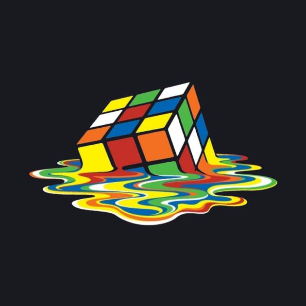 Sheldon Cooper Melting Rubik's Cube