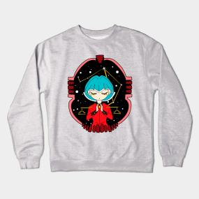 3e9c29df0 Zodiac Libra Crewneck Sweatshirts   TeePublic