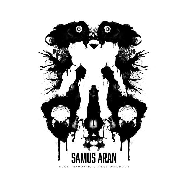 Geek Psychoanaylsis Samus Aran Ptsd T-Shirt thumbnail