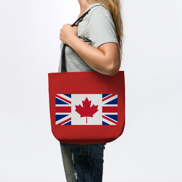 Canada - U.K. Flag Mashup