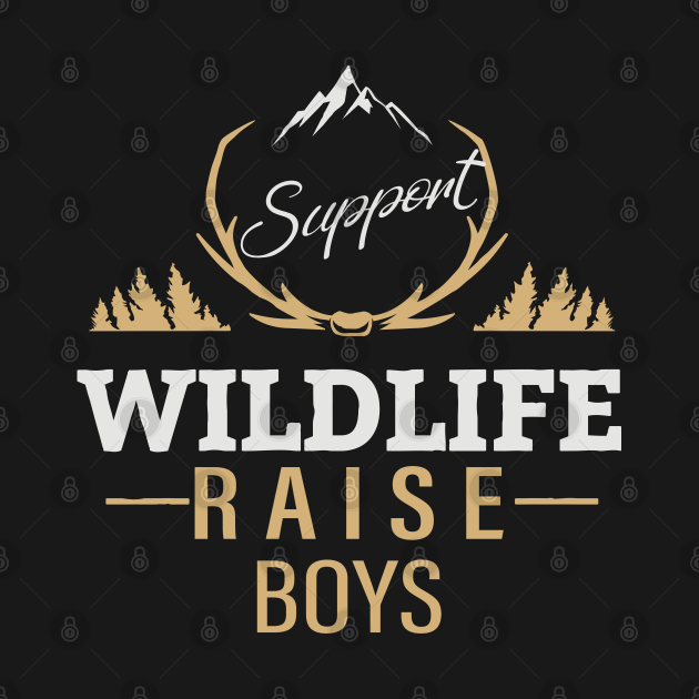support wildlife raise boys