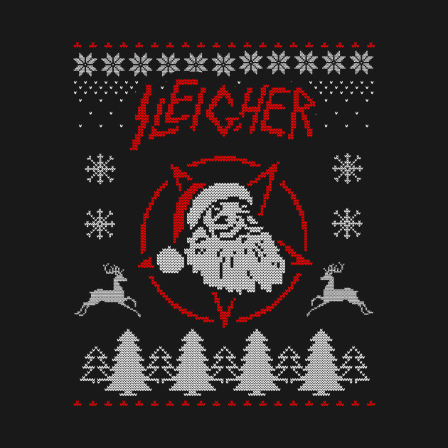 Sleigher Christmas Ugly Sweater