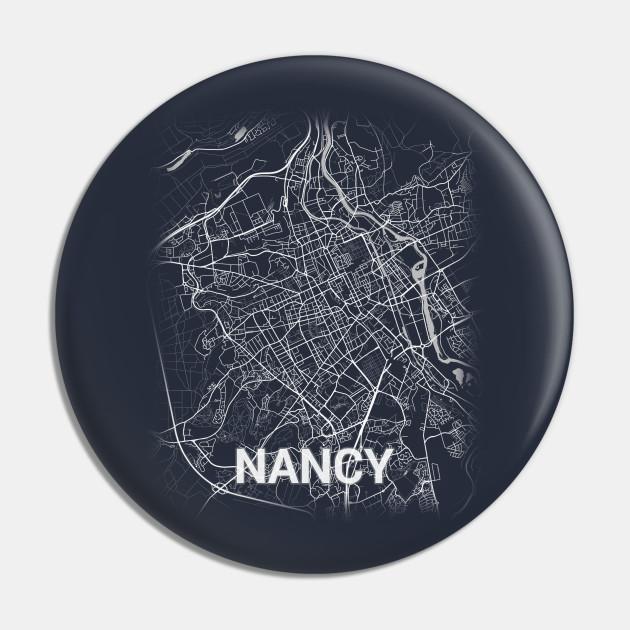 Nancy France Meurthe-et-Moselle City Map