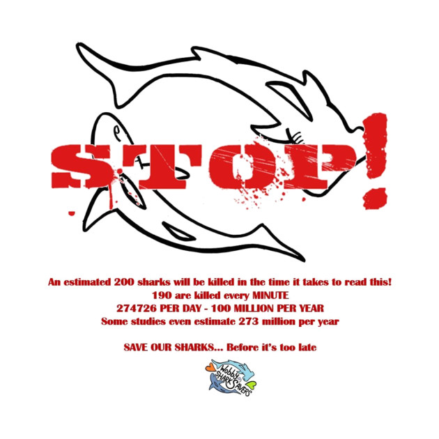 STOP - SAVE OUR SHARKS