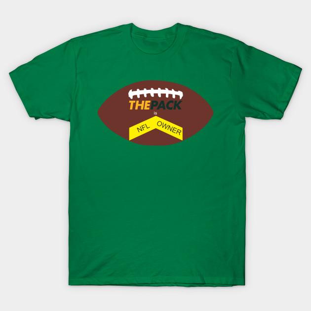 Green Bay Packers - T-Shirt | TeePublic