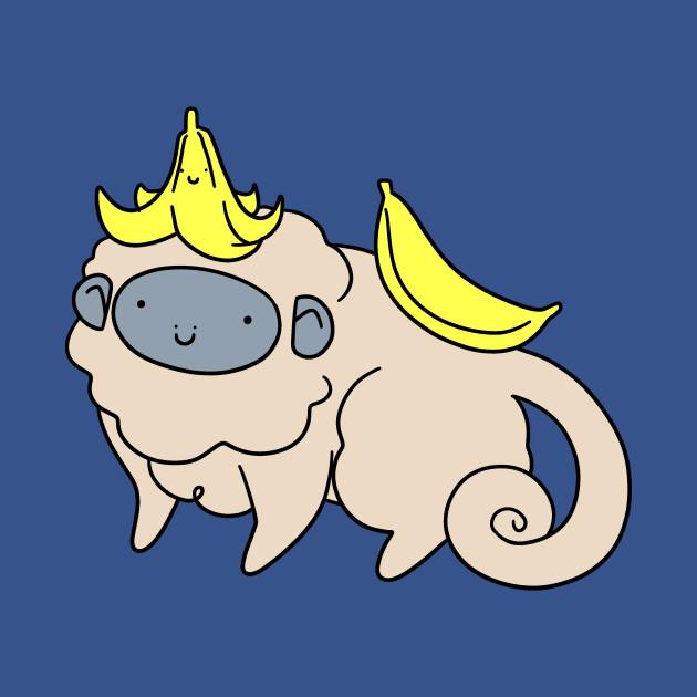 Fluffy Banana Monkey