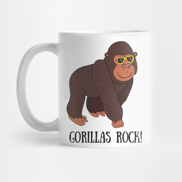 Details about  /Gorilla Love Mug Gorilla Mug Gorilla Gift Gorilla Lover Cute Gorilla Mug Funny