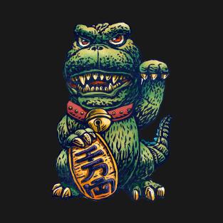 Godzilla Maneki-Neko Lucky Shirt