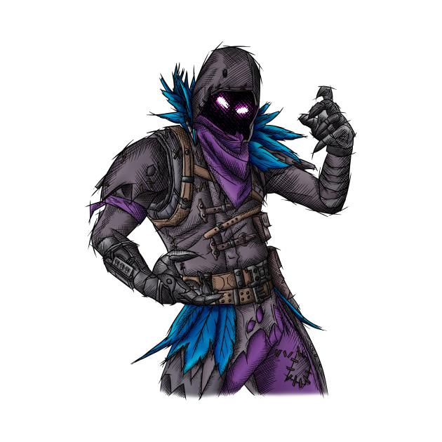 Raven - Fortnite Skin - Fortnite - Tote | TeePublic