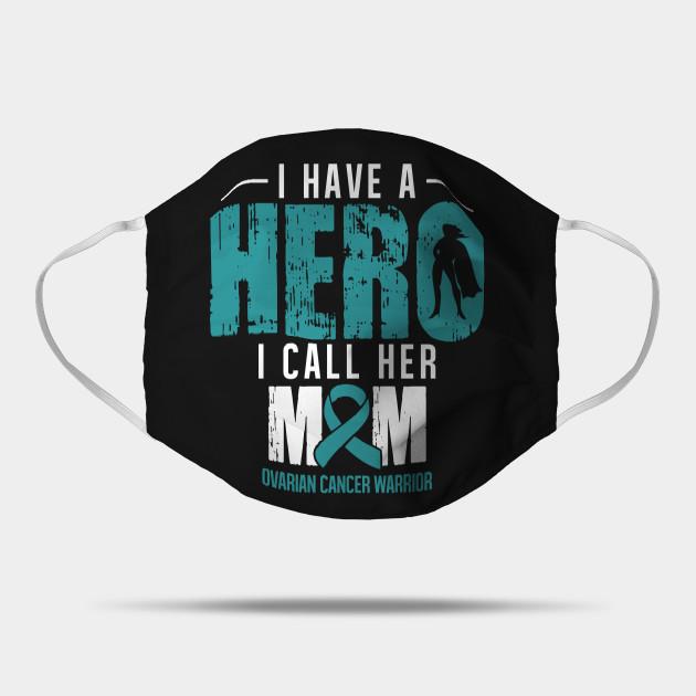 Ovarian Cancer Gifts Ovarian Cancer Awareness Tshirts Ovarian Cancer Awareness Mask Teepublic