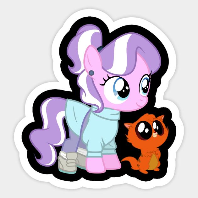 My Little Pony Sticker Diamond Tiara