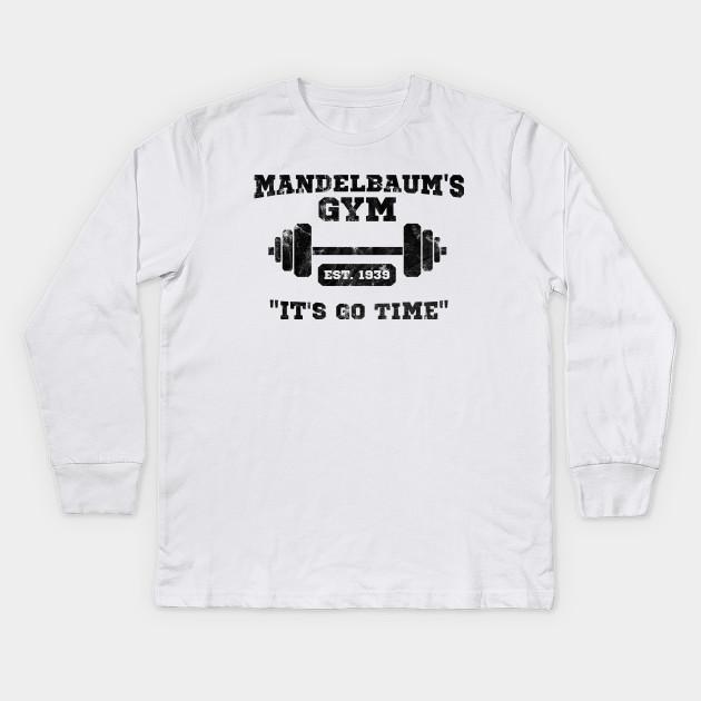 Mandelbaum s Gym - It s Go Time! T-Shirt - Seinfeld - Kids Long ... 6c7114c86