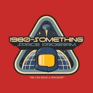 1980-Something Space Program t-shirts