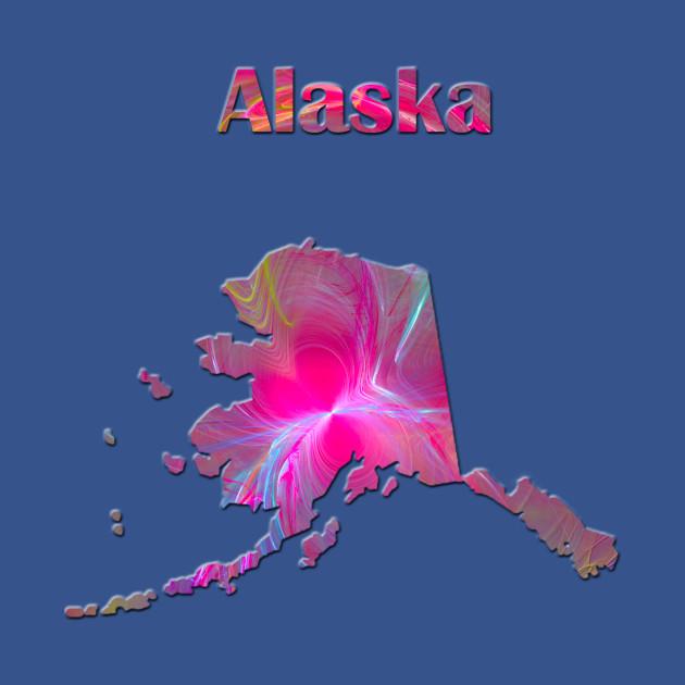Alaska Map Alaska Kids T Shirt Teepublic