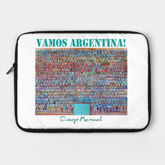 The fans of Argentina