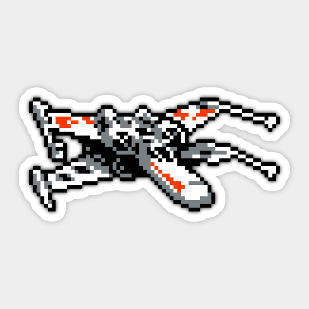 X Wing Low Res Pixelart