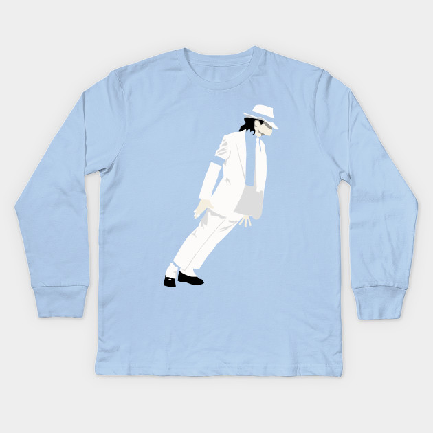 52f400f66ace Michael Jackson Smooth Criminal - Michael Jackson - Kids Long Sleeve ...