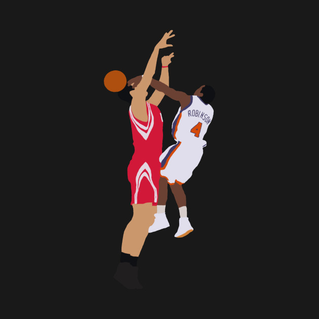 Nate Robinson Block On Yao Ming