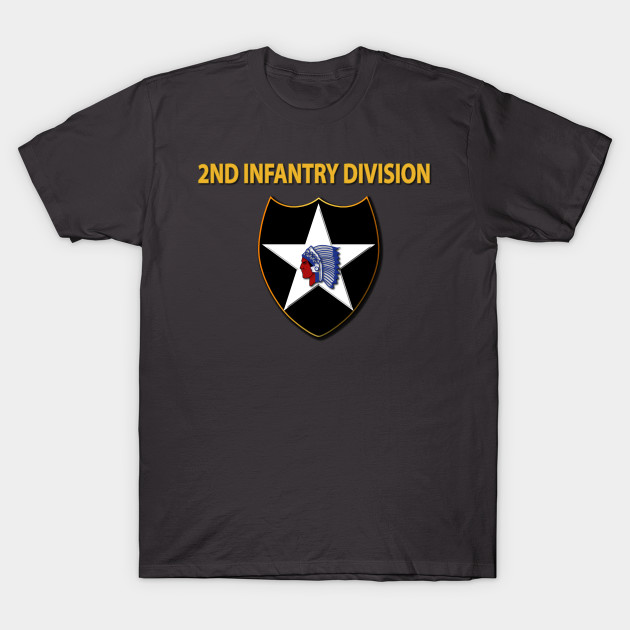 b1418ce3 SSI - 2nd Infantry Division - Crest - T-Shirt   TeePublic