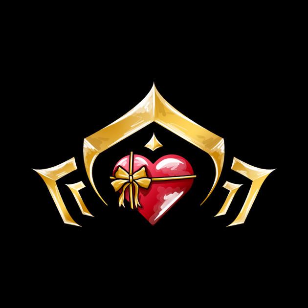 Warframe Valentines Glyph Logo