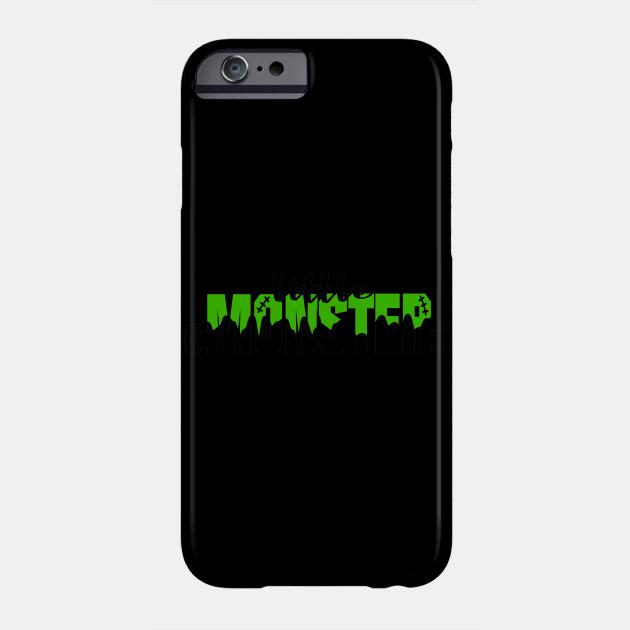 Little Monster Kids Frankenstein Halloween Kids Phone Case