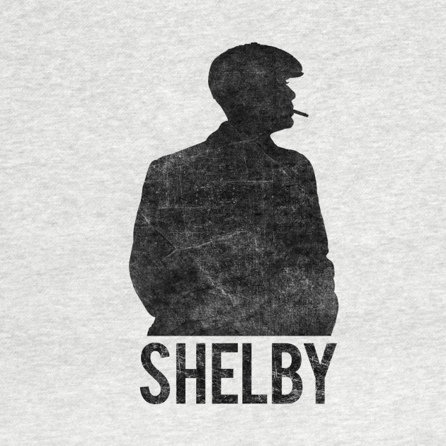 Peaky Blinders - Shelby Silhouette - Black Dirty