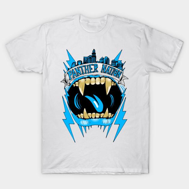 Carolina Panthers - T-Shirt | TeePublic